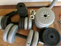 Weights, dumbells