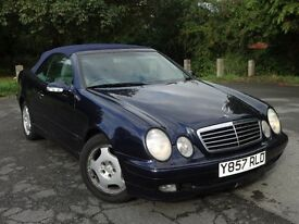 Mercedes Benz CLK 320 CONVERTIBLE Automatic, 62k Miles,1 OWNER,cabriolet, not BMW, HONDA, AUDI, FORD