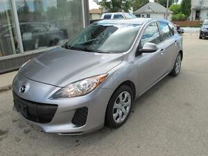 2012 Mazda 3 hatchback automatic 4 cyl 4 door CLEARANCE  $8,000