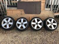 Set of alloy wheels Audi SLine 235/40/18 bargain