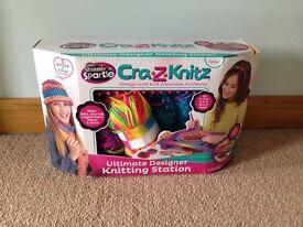 Cra.z. Knits designer knitting station