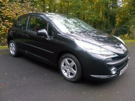 2009 Peugeot 207 1.4 HDi Verve 3dr, LOW MILEAGE, FULL SERVICE HISTORY