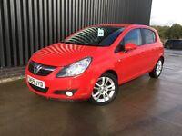 2009 (59) Vauxhall Corsa 1.2 i 16v SXi 5dr Service History 2 Keys May Px Finance Available