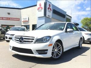 2013 Mercedes-Benz C-Class C 300 4MATIC (PARKING SENSORS! BLUETO