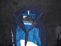 STYLISH SUPERDRY SPORTS COAT BRAND NEW WITH TAGS ON SIZE MEDIUM