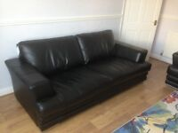 CALVINO LE MANS 3 AND 2 SEAT SOFAS AS NEW 3 MONTHS OLD