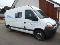 2008 Renault Master Newly Converted Campervan