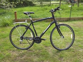 Marin Belvedere hybrid bike - used and modified.