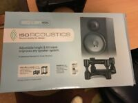 IOS Acoustics desk top monitor stands