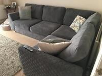 Left hand facing corner sofa, DFS Eleanor
