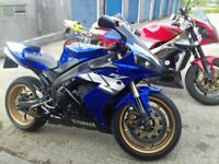 Yamaha r1 2005. £3500 no offers but will (swaps) cbr gsxr zx10