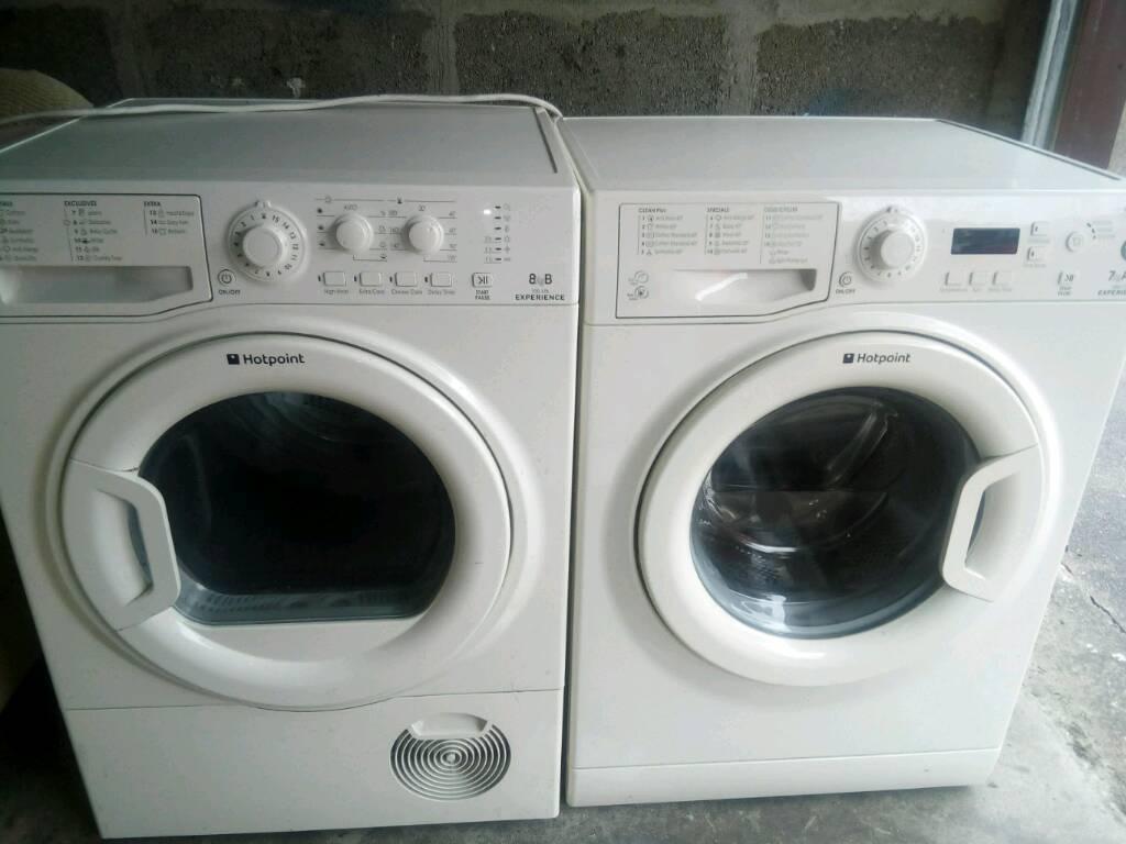 8kg tumble dryer + 7kg washing machine