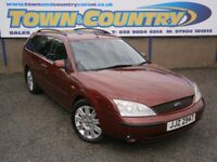 ***2003 Ford Mondeo GHIA X ESTATE AUTO **MOT MAY 2018**FULL S'HISTORY*( passat a4 vectra avant )
