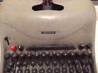 Vintage Lexicon Olivetti Typewriter