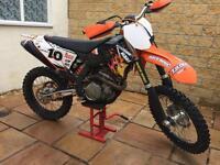 2009 ktm sxf 450 factory edition