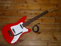 Vox Shadow 1964 electric guitar with coaxial cable