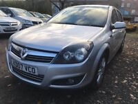 07 plat - Vauxhall Astra 1.6 petrol - 5 month mot - new rear discs/pads - half leather seats