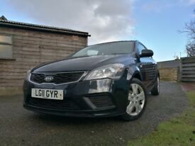 REDUCED PRICE Kia C'eed 1.4, 1yr MOT 47mpg