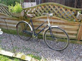Truimph Vintage ladies bike for restoration 1950's