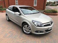 2008/08 Vauxhall Astra 1.6 SXI 2dr Sport Hatchback Parking Sensors(Aid) 2Keys Aux-Port S/History Mot