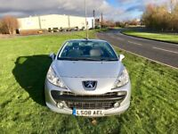 Peugeot 207 Silver 2008 MOT 5 Month & Alloy wheels
