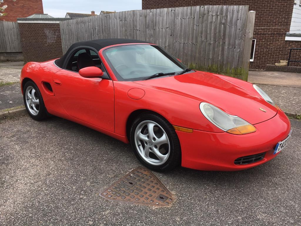 1999 porsche boxster 2 5 manual v5 now present bargain. Black Bedroom Furniture Sets. Home Design Ideas