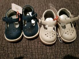 Baby girls Mothercare shoes size 2