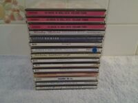Fifteen Assorted CD's – In Very Good Condition - Proceeds To Local Group Funds