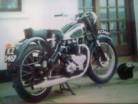 BSA A7 - 1949 - 500cc Twin - British Bike