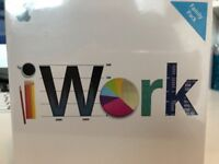 BRAND NEW NEVER USED - IWORK SOFTWARE FOR MAC. STILL SEALED