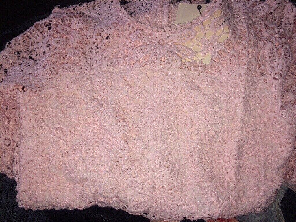 96050f5196cf Miss selfridge pink dress