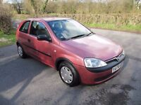 CORSA 1.0, 1 OWNER V.LOW MILES, GP1 INSURANCE, 60MPG, NEW MOT, HPI CLEAR, ANY PART-EXCHANGE WELCOME