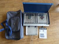 CAMPING STOVE AND FOLDING CHAIRS FOR SALE