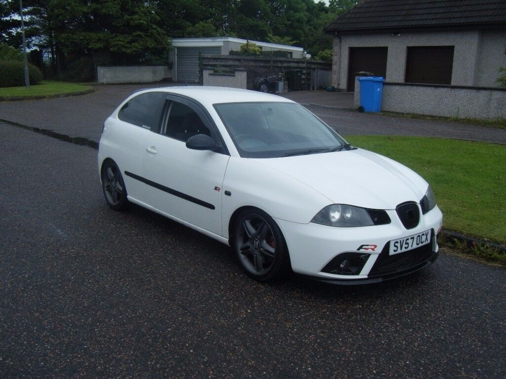 2007 57 230 bhp seat ibiza 1 8 fr turbo big spec many mods. Black Bedroom Furniture Sets. Home Design Ideas