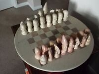 SOAP STONE CHESS SET
