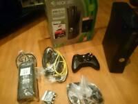 Xbox 360 S 250gb console black mint condition