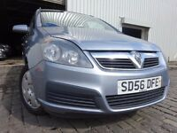 "56 VAUXHALL ZAFIRA 1.6,""7 SEATER"",MOT JAN 017,2 KEYS,2 OWNERS FROM NEW,PART HISTORY,VERY RELIABLE"