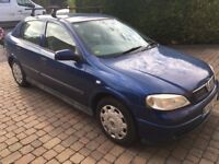 Vauxhall astra 1.6 2002/02 92000 miles drives like new mot'd until march