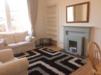 light, airy ground floor flat with 2 double bedrooms