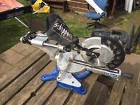 Scheppach 2000w sliding mitre saw 254mm