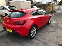 Vauxhall Astra GTC 1.4 i Turbo Sport 16v 3dr (start/stop) Fully Serviced, Excellent Condition.