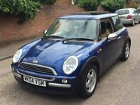 Mini Cooper 2004 Pan Roof / Brown Leather Interior 1.6 Immaculate Condition