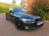 2008 BMW 3 SERIES 320D, COUPE AUTOMATIC, 2.0 SPORT 220 BHP, FSH 2 KEYS, MOT 12 MONTH, HPI CLEAR.