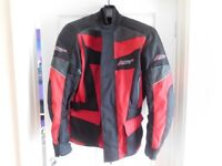RST Textile Motorcycle Jacket. Small/Medium Hardly worn great condition, as new.