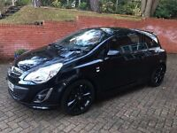 Vauxhall Corsa 2012 Limited Edition Black FSH