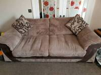 DFS sofa and swivvel chair