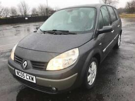 05 RENAULT GRAND SCENIC DYNAMIQUE 7 SEATER NOW ONLY £999