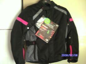 X 2 girls bike jackets