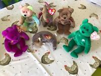 Beanie Babies Collection (6 bears)