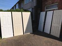 6 INTERNAL DOORS GOOD CONDITION